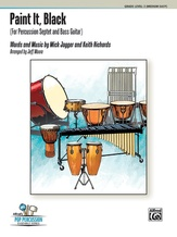 Paint It, Black (For Percussion Septet and Bass Guitar) - Percussion Ensemble
