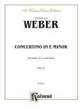Weber: Concertino in E Minor, Op. 45 - Brass