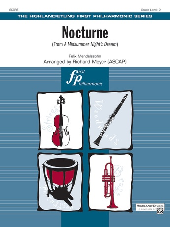 Nocturne (from A Midsummer Night's Dream) - Full Orchestra