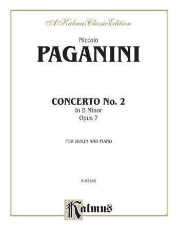 Paganini: Concerto No. 2 in B Minor, Op. 7 - String Instruments