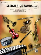 Sleigh Ride Samba - Flute