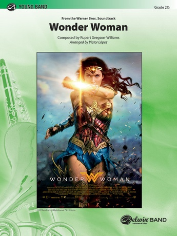 Wonder Woman: From the Warner Bros. Soundtrack - Concert Band