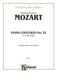 Mozart: Piano Concerto No. 22 in E flat Major, K. 482 - Piano Duets & Four Hands