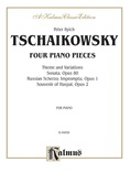 Tchaikovsky: Collection I (4 Piano Pieces) - Piano
