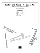 Fanfare and Canticle for Easter Day - Choral Pax