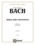 Bach: Fifteen Three-Part Inventions (Ed. Carl Czerny) - Piano