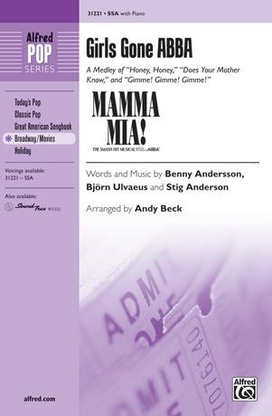 Girls Gone ABBA (A Medley) - Choral