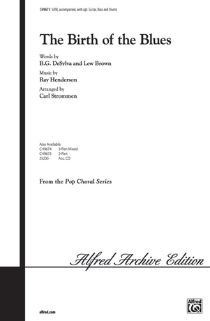 The Birth of the Blues: Carl Strommen | SATB Choral Sheet Music