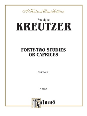 Kreutzer: Forty-Two Studies or Caprices - String Instruments