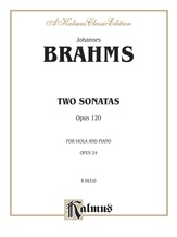 Brahms: Two Sonatas, Op. 120 - Woodwinds