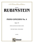 Rubinstein: Piano Concerto No. 4, Op. 70 - Piano Duets & Four Hands