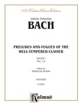 Bach: The Well-Tempered Clavier (Book I, Nos. 1-8) (Ed. Feruccio Busoni) - Piano