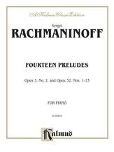 Rachmaninoff: Fourteen Preludes - Piano