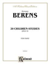 Berens: 20 Children's Studies, Op. 79 - Piano