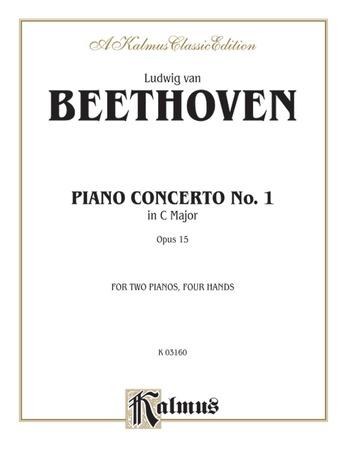 Beethoven: Piano Concerto No. 1 in C Major, Opus 15 - Piano Duets & Four Hands