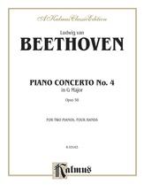 Beethoven: Piano Concerto No. 4 in G Major, Opus 58 - Piano Duets & Four Hands