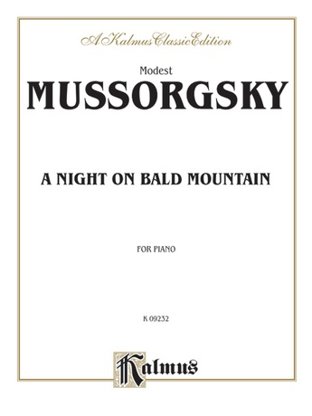 Mussorgsky: A Night on Bald Mountain - Piano