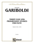 Gariboldi: Thirty Easy and Progressive Studies, Volume II (Nos. 16-30) - Woodwinds