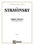 Stravinsky: Three Pieces - Woodwinds