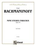 Rachmaninoff: Etudes Tableaux, Op. 39 - Piano