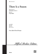 There Is a Season - Choral