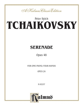Tchaikovsky: Serenade, Op. 48 - Piano Duets & Four Hands