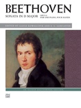 Beethoven: Sonata in D Major, Opus 6 - Piano Duet (1 Piano, 4 Hands) - Piano Duets & Four Hands