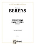 Bertini: Twenty-five Easy Studies, Op. 100 - Piano