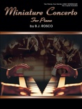 Miniature Concerto - Piano Duo (2 Pianos, 4 Hands) - Piano Duets & Four Hands
