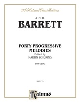 Barret: Forty Progressive Studies - Woodwinds