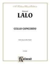 Lalo: Concerto in D Minor - String Instruments