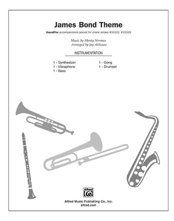 James Bond Theme: Monty Norman | Choral Pax Sheet Music