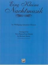 Eine Kleine Nachtmusik - Piano Duo (2 Pianos, 4 Hands) - Piano Duets & Four Hands