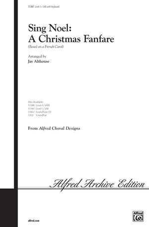 Sing Noel: A Christmas Fanfare - Choral
