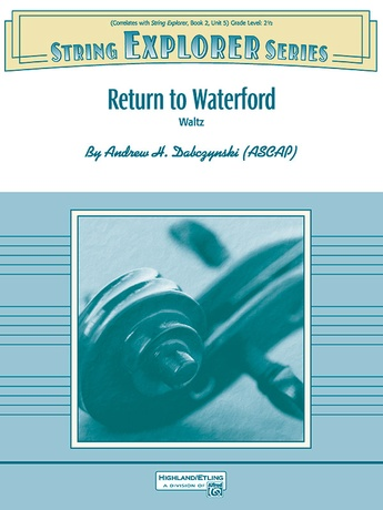 Return to Waterford - String Orchestra