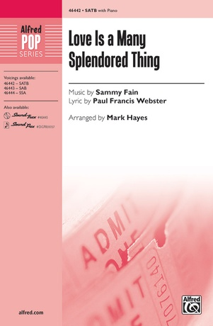 Love Is a Many Splendored Thing - Choral