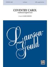 Coventry Carol - Choral