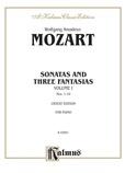 Mozart: Sonatas (Volume A) - Piano