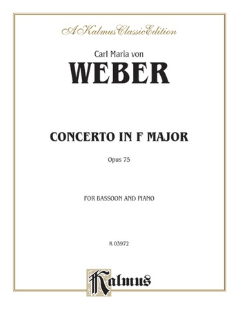 Weber: Concerto, Op. 75 - Woodwinds
