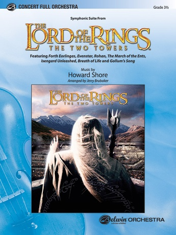 The Lord of the Rings: The Two Towers, Symphonic Suite from: 2nd B-flat Trumpet -