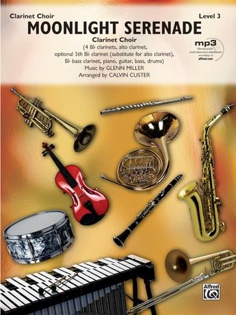 Moonlight Serenade: Drums: Glenn Miller | Clarinet Sheet Music