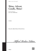 Shine, Advent Candle, Shine! - Choral