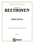 Beethoven: Three Duets - Mixed Ensembles