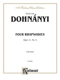 Dohnányi: Rhapsody, Op. 11, No. 4 - Piano