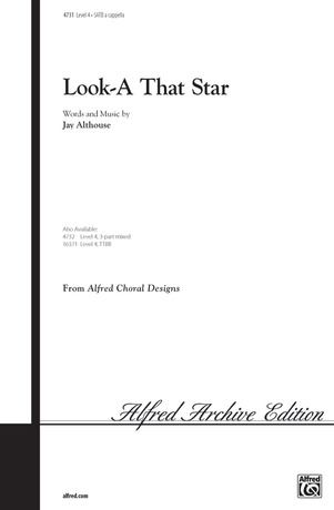 Look-A That Star - Choral