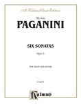 Paganini: Six Sonatas for Violin and Guitar, Op. 3 - Guitar