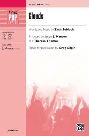 Clouds (SATB) - Choral