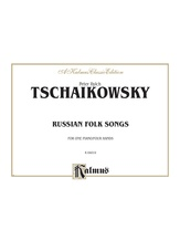Tchaikovsky: Russian Folksongs - Piano Duets & Four Hands