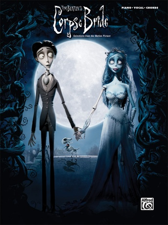"""Remains Of The Day (Combo Lounge Version) (from """"Corpse Bride"""") - Piano/Vocal/Chords"""