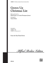 Grown Up Christmas List - Choral